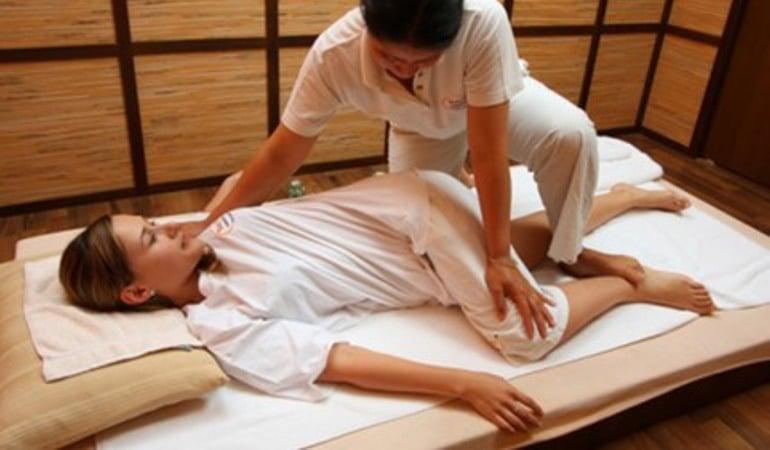 thajská tradiční masáž